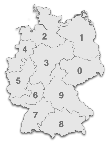 neue postleitzahlen deutschland