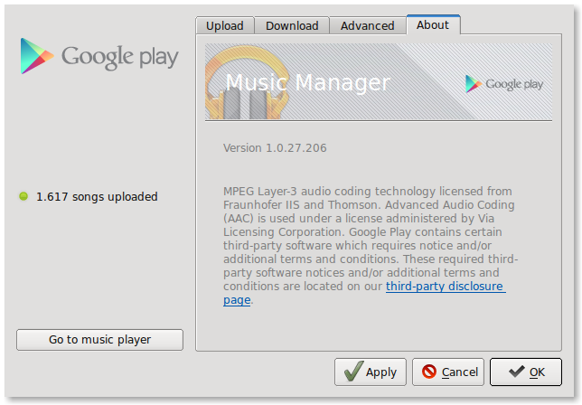 music manager google play