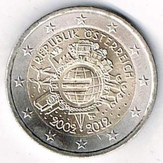 Datei10 Jahre Euro Bargeld österreich 2002 2012jpg Wikipedia