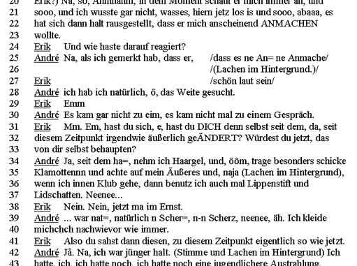 Transkription Sozialwissenschaften Wikiwand
