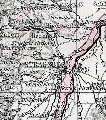 Jüdische Gemeinde - Oberehnheim (Elsass)