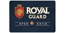 "Logo des Turniers ""Royal Guard Open Chile"""