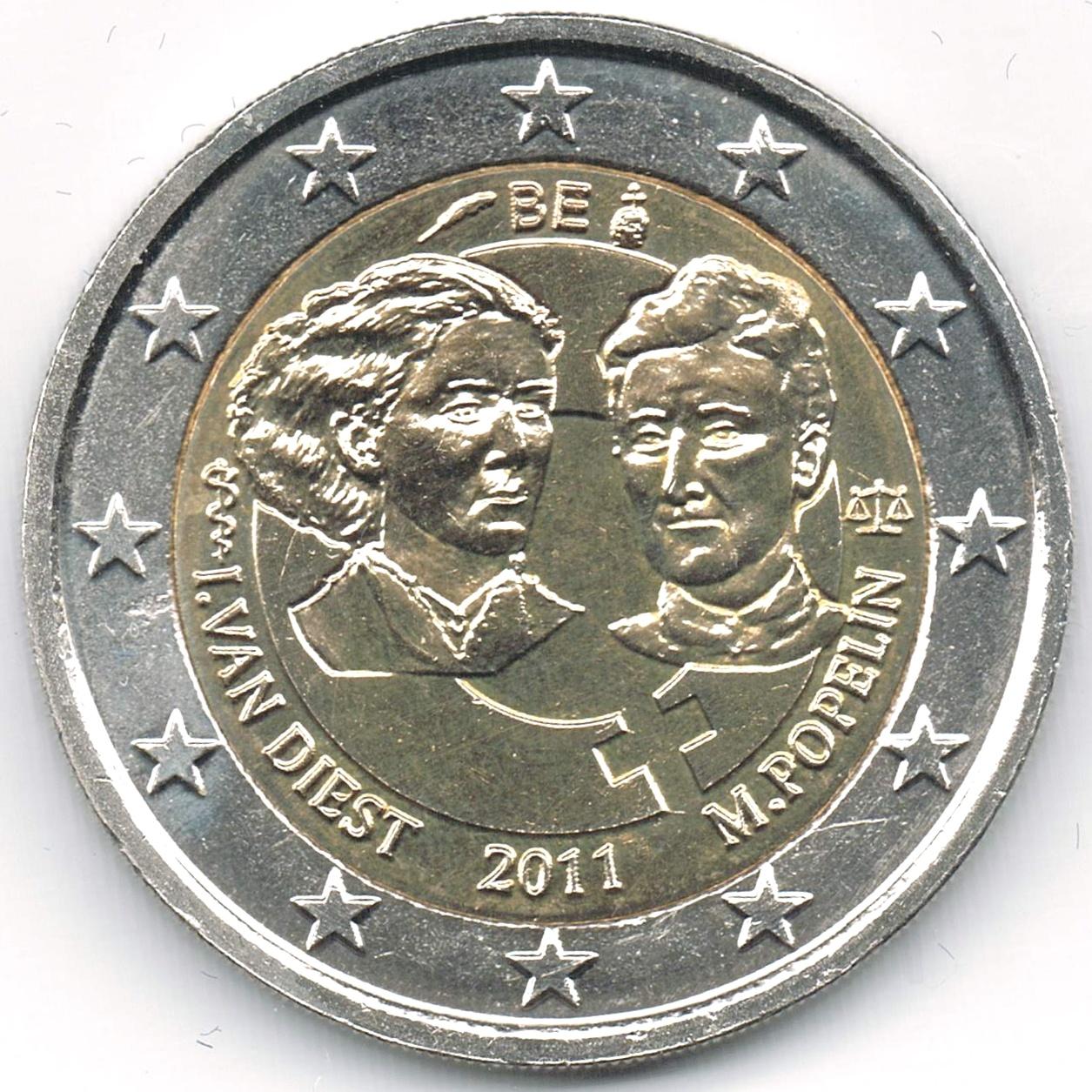 Datei2 Euro Belgien 2011 Frauentagjpg Wikipedia