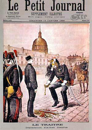 Datei:Jan-1895 Le-traitre-dégradation-d'Alfred-Dreyfus-Le-Petit-Journal.jpg