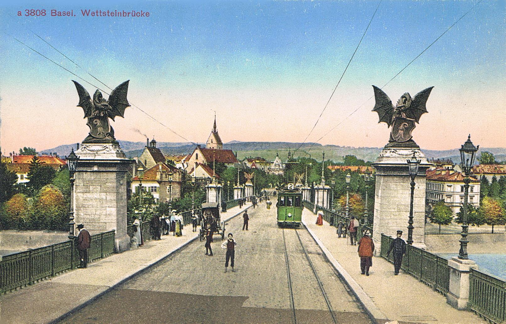 Секреты Венедов. - Страница 5 Wettsteinbrücke_Basel_1900