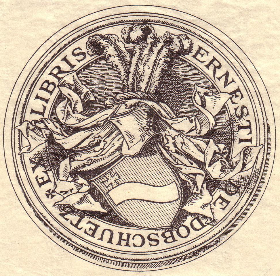 Ernst von Dobschütz – Wikipedia
