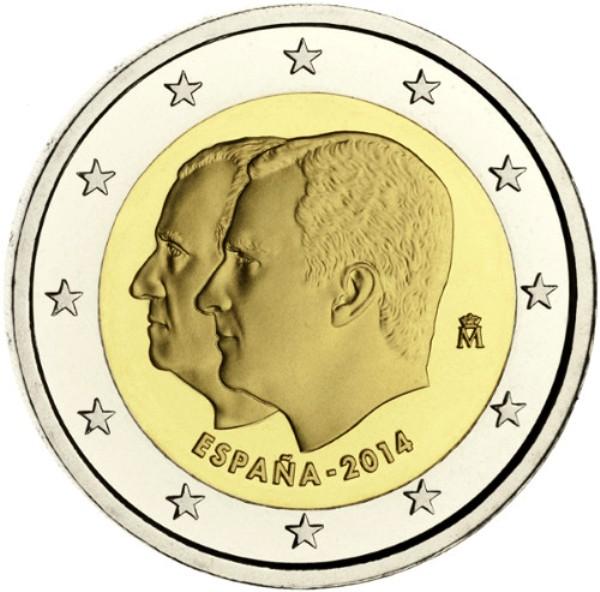 Datei2 Euro Spanien 2014 Thronwechseljpg Wikipedia
