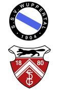 Wappen des SSV 04 Wuppertal und des TSG Vohwinkel 80
