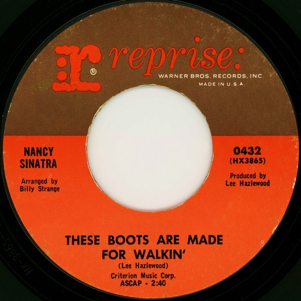 these boots are made for walkin� � wikipedia