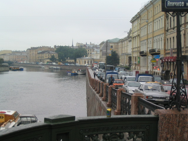 St. Petersburg - Fontanka - Foto: Wikimedia