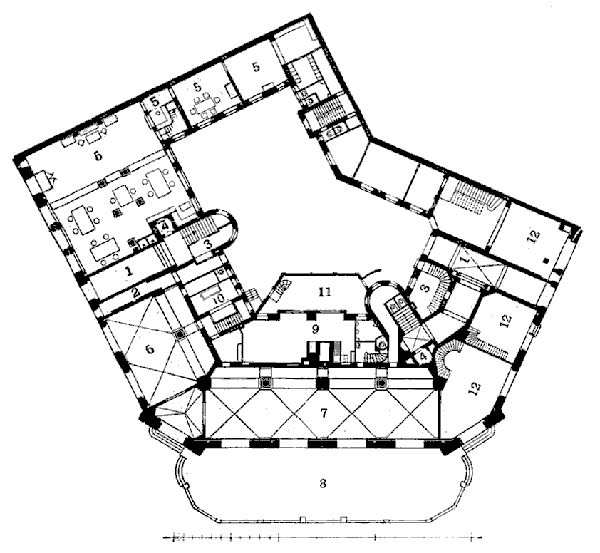 Dateizweites Romanisches Haus Grundriss Erdgeschosspng Wikipedia
