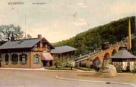 Die Wasserballastbahn Nerobergbahn-1907