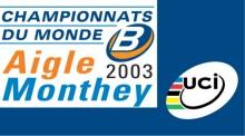 2003 UCI B World Championships logo