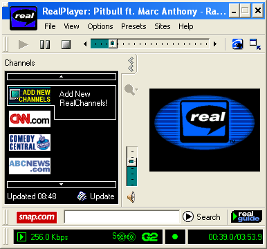 Topic Real player virgin radio