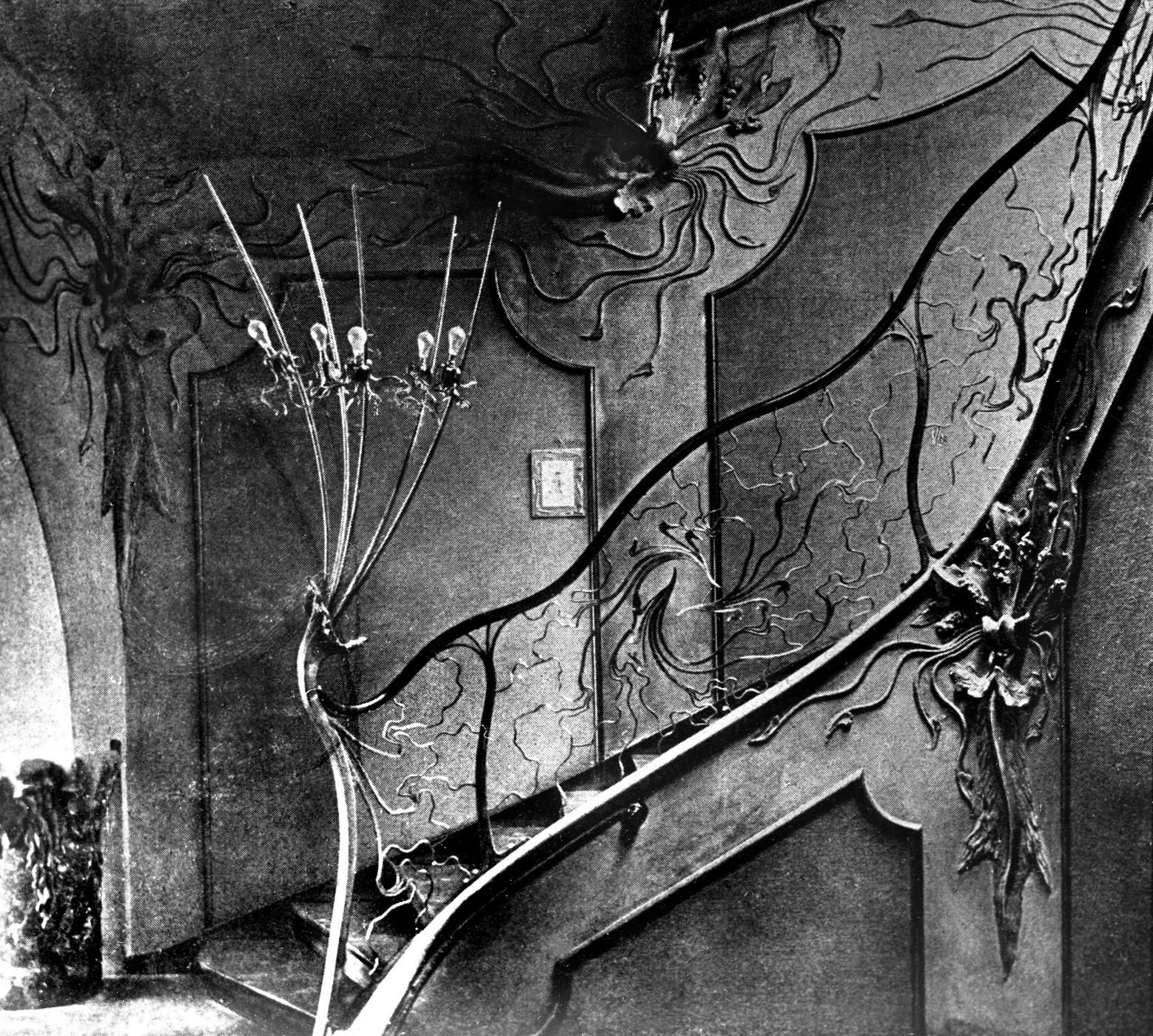 Datei atelier elvira treppenhaus um 1900 jpg wikipedia