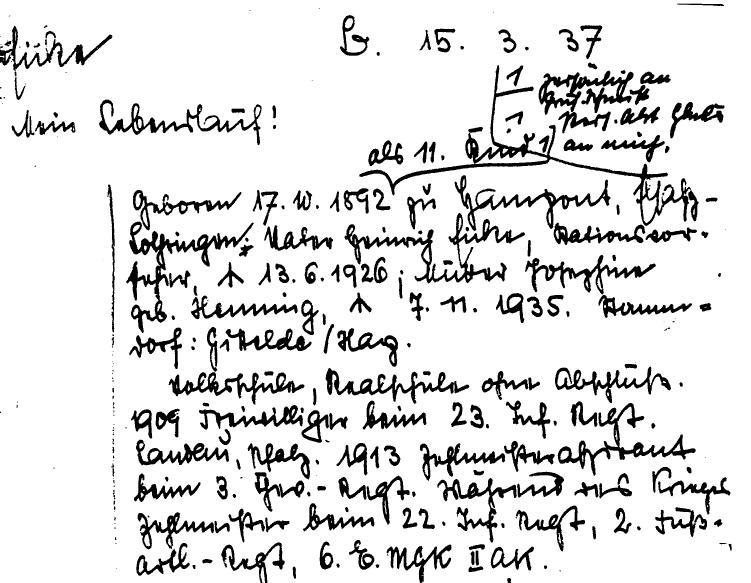 dateieicke lebenslauf 15 mrz 1937jpg - Handschriftlicher Lebenslauf