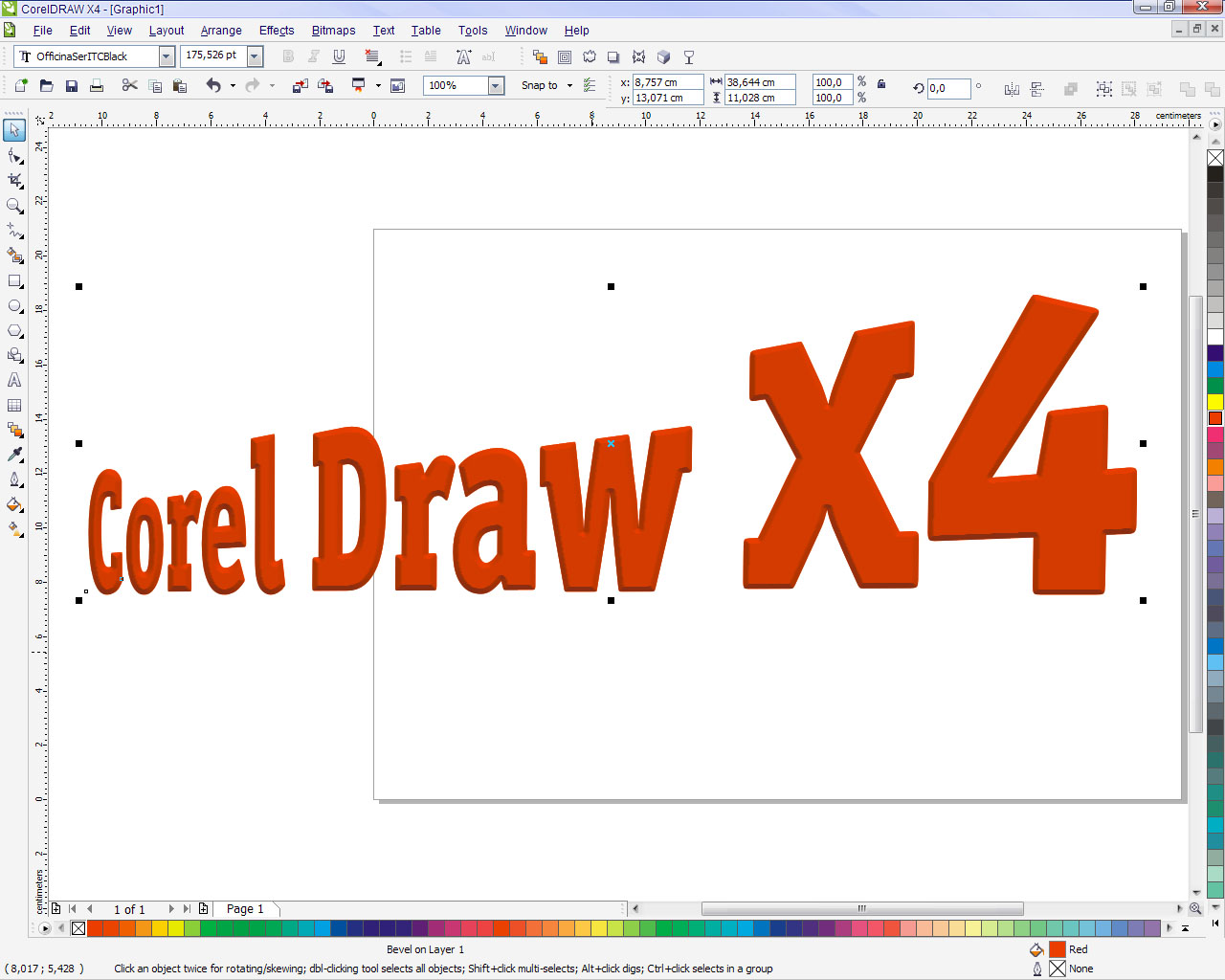Corel Draw X Home Student Logo