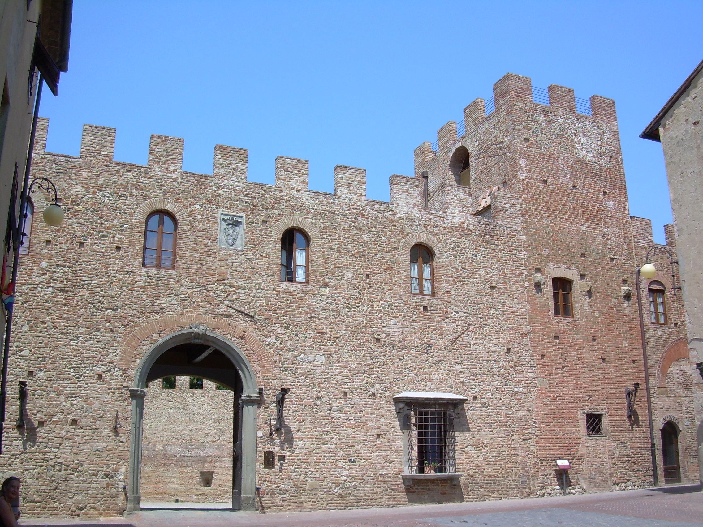 Palazzo Stiozzi Ridolfi, via Boccacccio, Certaldo Alt
