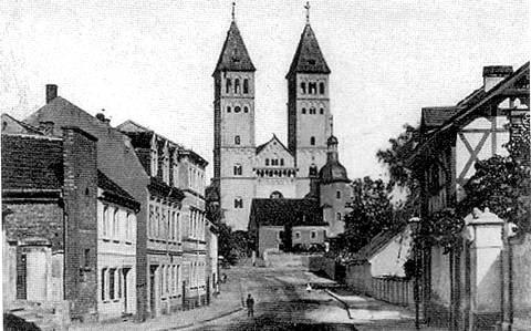 Taborkirche um 1905