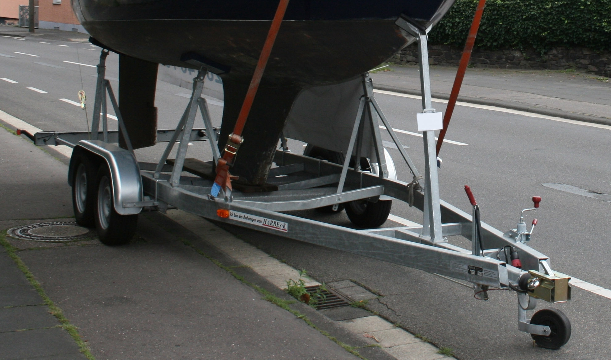 harbeck trailer 450 kg