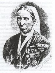 Martha von Sabinin als Krankenschwester und Nonne (Quelle: Wikimedia)