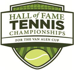 "Logo des Turniers ""Dell Technologies Hall of Fame Tennis Open"""
