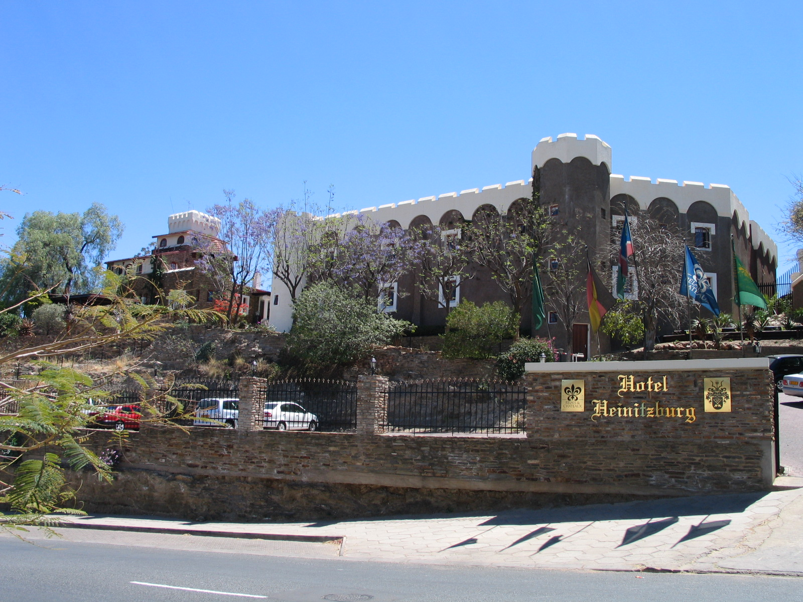 Heinitzburg / Heinitzburg Castle - Attractions/Entertainment - Heinitzburg St, Windhoek, Khomas, Namibia