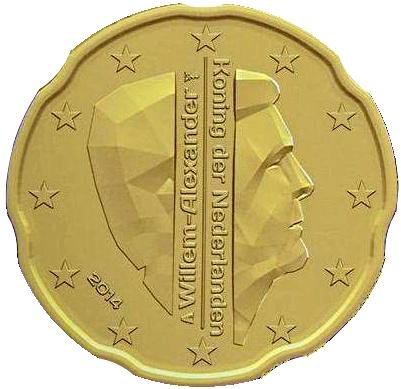Dateiniederländische 20 Cent Münze 2014jpg Wikipedia
