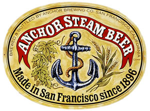 Anchor Steam Beer Glass