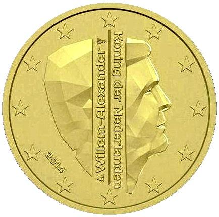 Dateiniederländische 10 Und 50 Cent Münzen 2014jpg Wikipedia