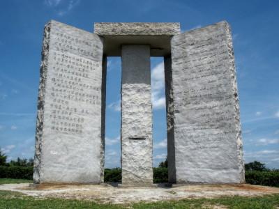 Bildergebnis für georgia guidestones images