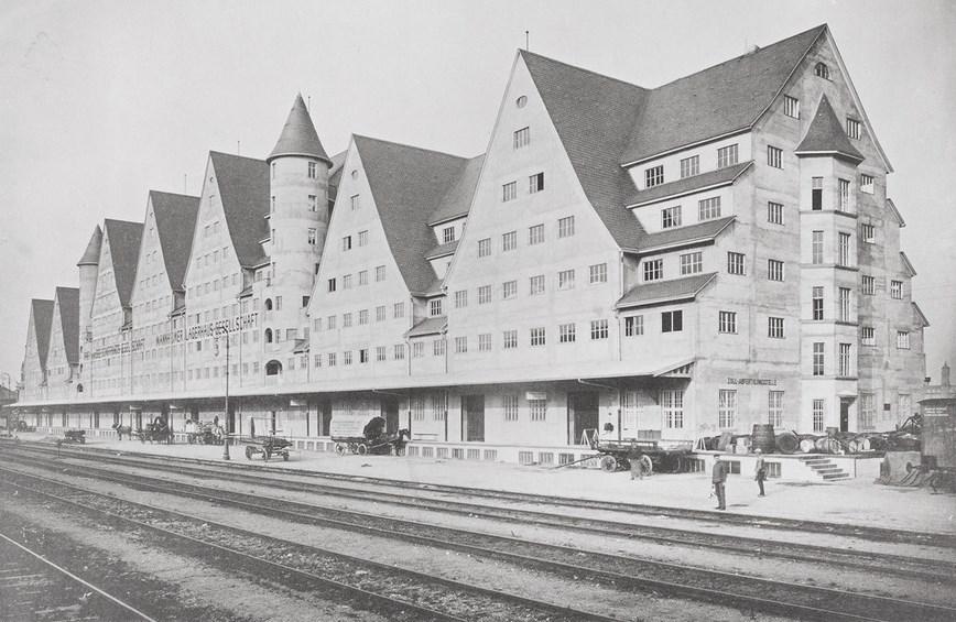 Köln - Rheinau Siebengebirge mit Gleisanlagen (um 1910), RBA.jpg