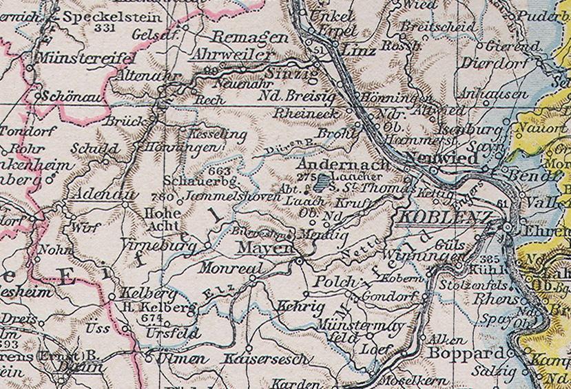 Bildergebnis für Mayen historische Karten