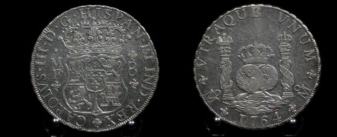 Dateimünze Columnario 8 Reales Silber Mexiko 1764jpg Wikipedia