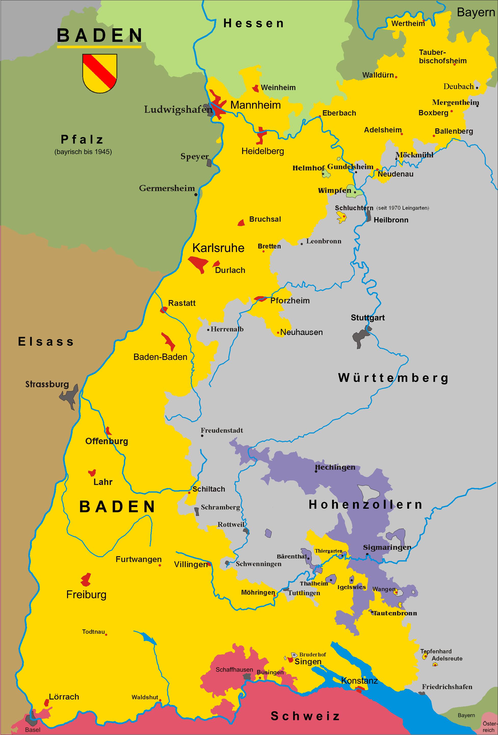 Wo Baden Baden