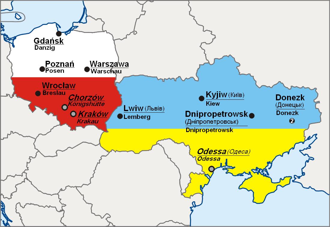 landkarte ukraine Datei:EM2012 Polen Ukraine Karte de.PNG – Wikipedia landkarte ukraine