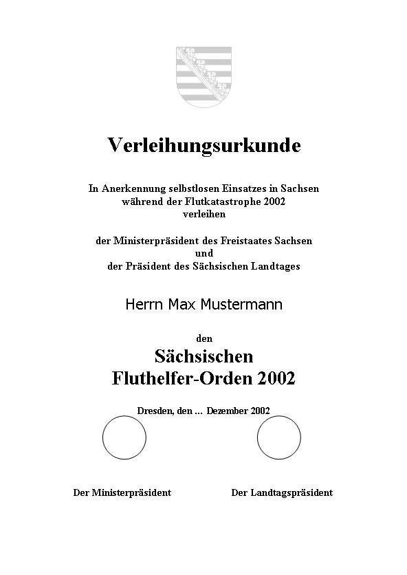 Datei:Muster Verleihungsurkunde Fluterhelfer-Orden Sachsen.jpg ...