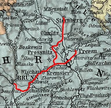 Mährisch-Schlesische Nordbahn – Wikipedia