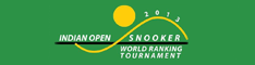Logo der Indian Open 2013