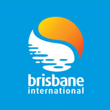 "Logo des Turniers ""Brisbane International"""