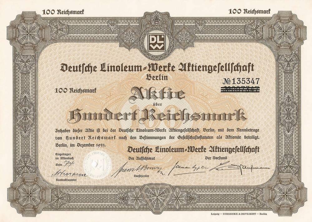 Deutsche Linoleum Werke Wikipedia