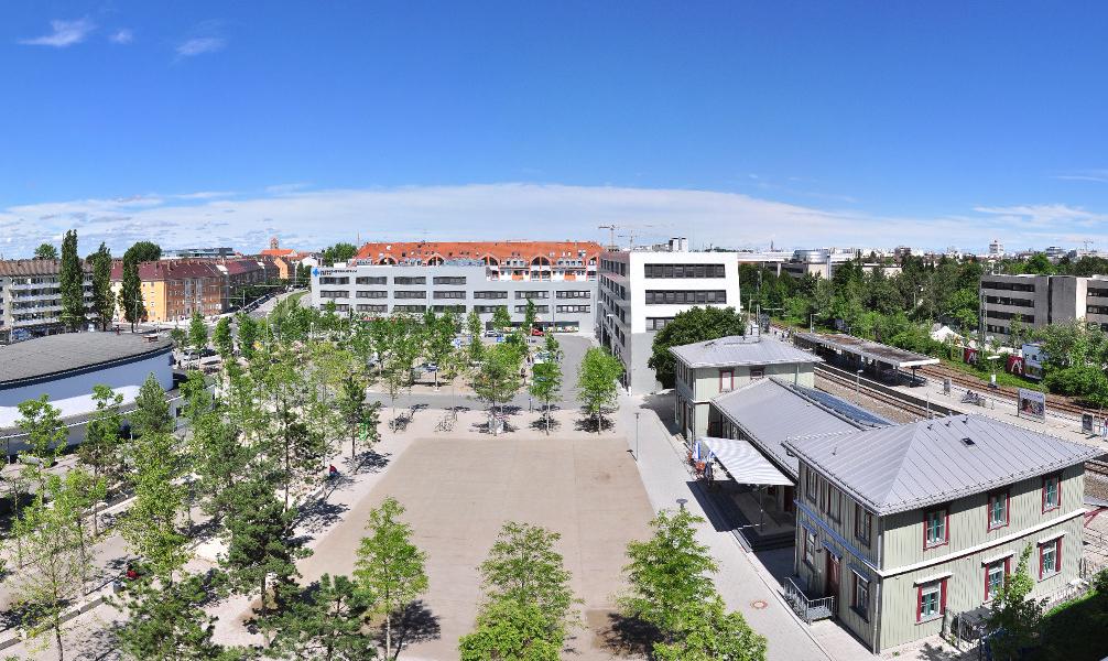 giesinger bahnhofsplatz