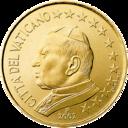 10 cents Vatican 1st series