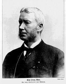 Franz Von Thun And Hohenstein Politician Zxc Wiki