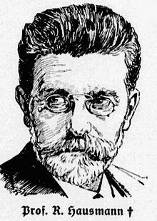Robert Hausmann (Quelle: Wikimedia)