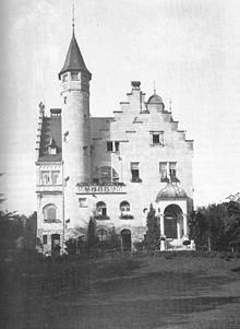 villa in bretten alte wilhelmstrasse german historismus buildings pinterest villas. Black Bedroom Furniture Sets. Home Design Ideas