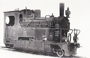 Machine 1102 at the time of the Royal Bavarian State Railways