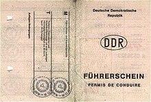 Geschichte Des Führerscheins Wikipedia