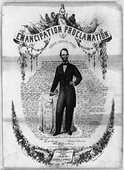 Contemporary poster for the proclamation