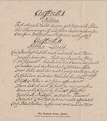 Originalhandschrift von Klopstocks David, ein Trauerspiel (1772) (Quelle: Wikimedia)